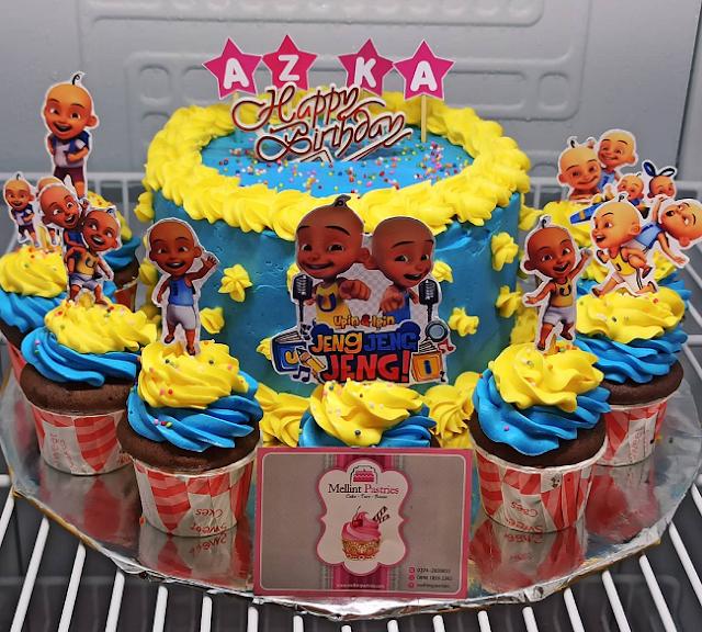 Kue Ulang Tahun Anak Ipin Upin