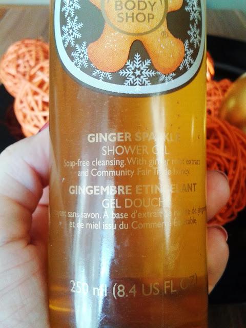 Ginger żel