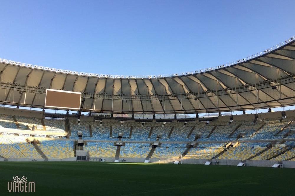visita guiada ao estádio do Maracanã