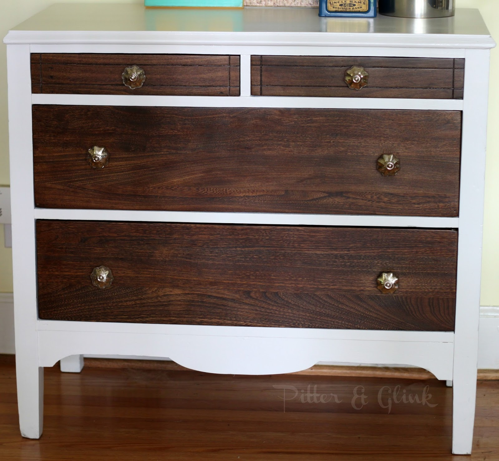 I have actually had this dresser finished for a long time i took these final pictures a while back but i didnt really like them