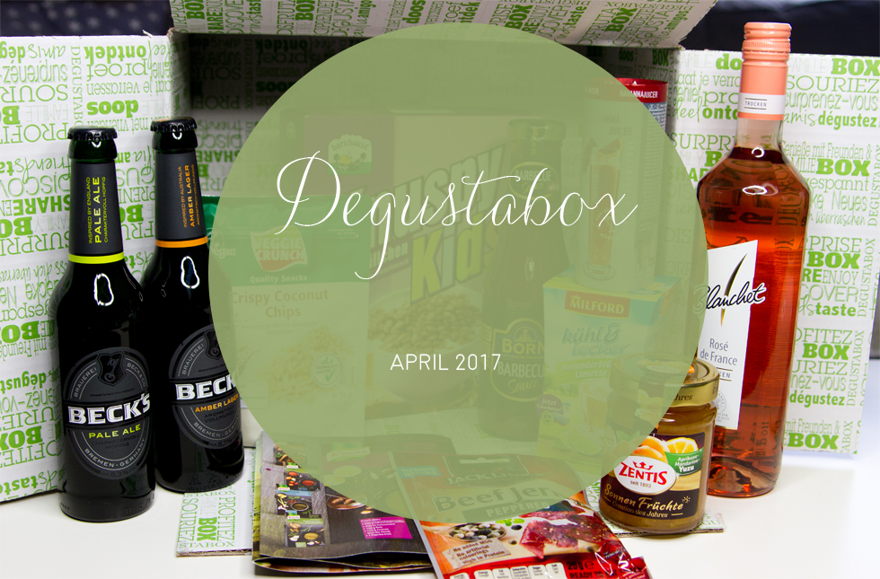 Degustabox - April 2017