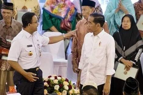 Pertempuran Tiada Henti Anies Vs Jokowi