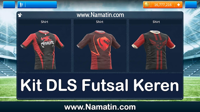 Kit Dream League Soccer Futsal Keren