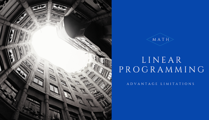 Advantage of linear programming