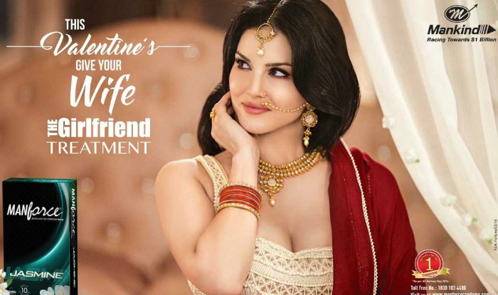 Sunny Leone's New Manforce Jasmine Condom ad is Even Hotter than Before