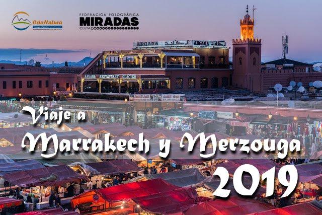 Viaje a Marrakech y Merzouga 2019