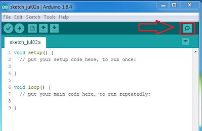 Serial Monitor Software IDE Arduino