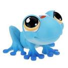 Littlest Pet Shop Pet Pairs Frog (#806) Pet