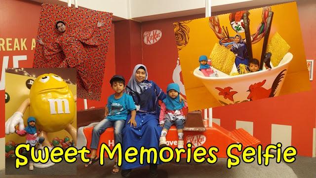 sweet memories selfie