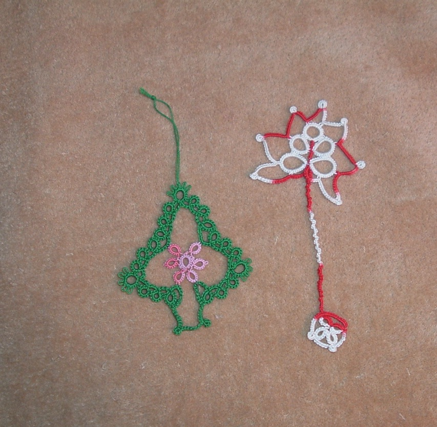 Thread Christmas Tree: With Needle And Thread I Will Travel Far !: Tatted