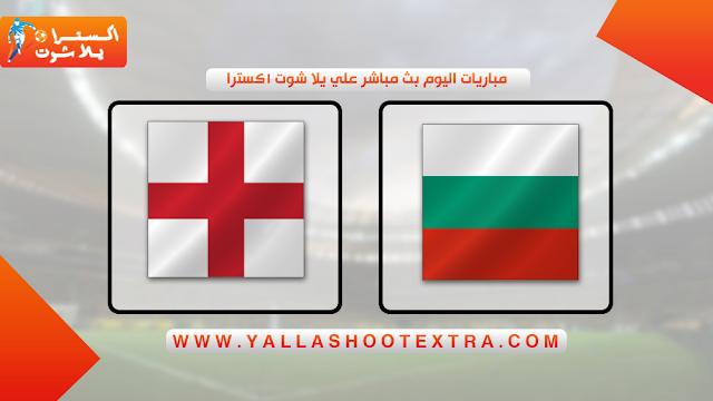 مباراة انجلترا و بلغاريا 14-10-2019 في تصفيات اليورو 2020