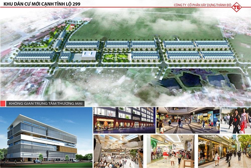 Dự án có trung tâm thương mại và shophouse khu buôn bán sầm uất