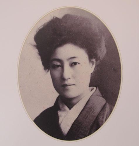 Portrait of Sadayakko Kawakami