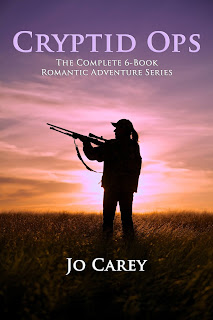 Cryptid Ops: The Complete 6-Book Romantic Adventure Series by Jo Carey
