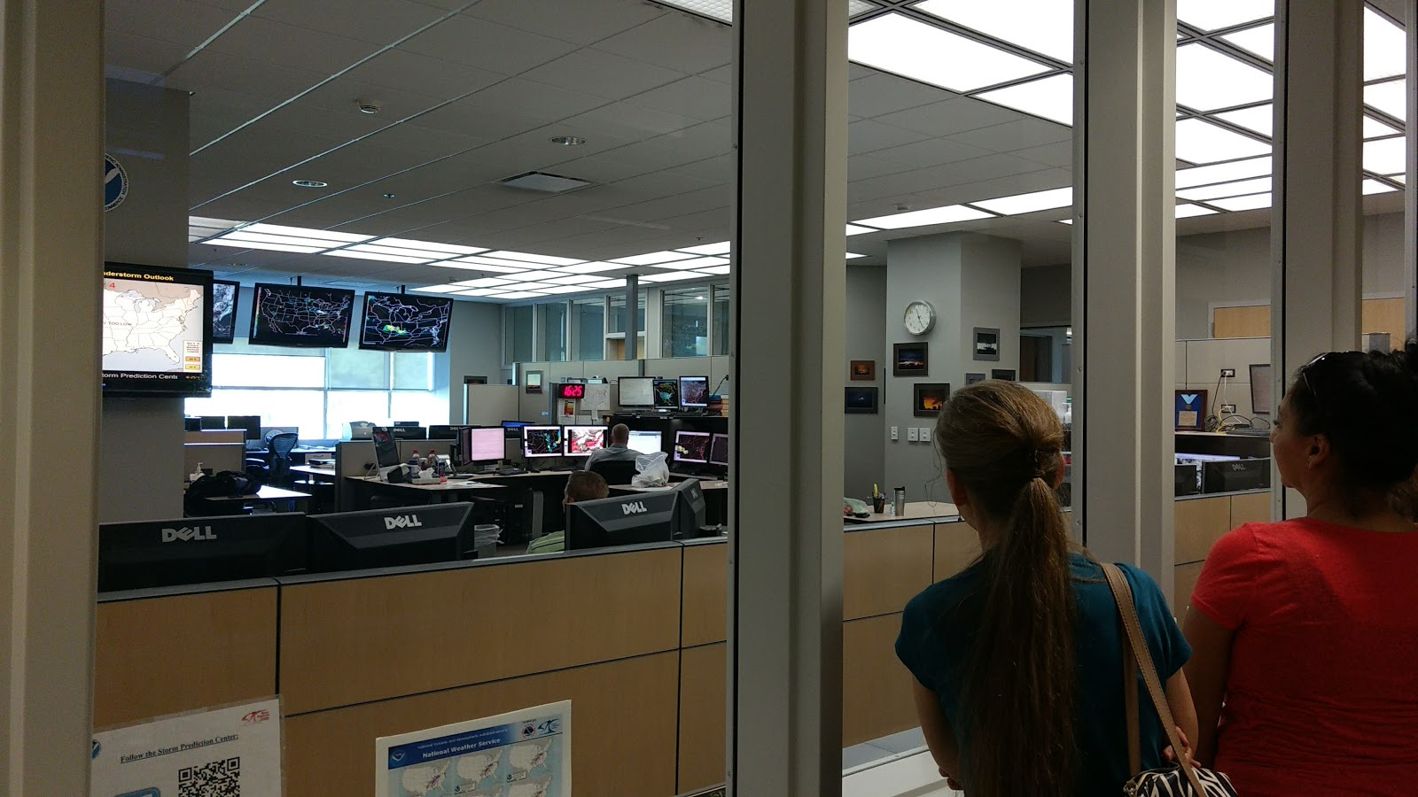 the WRITE Balance: Field Trip to the National Weather Center