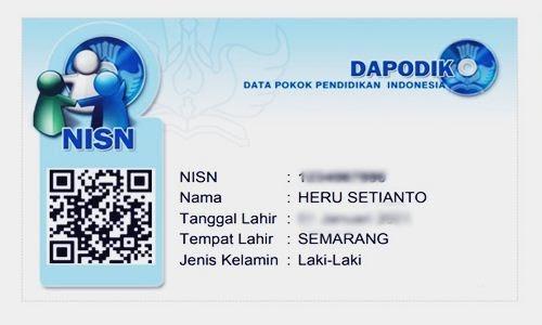 Foto Review Cara Cetak Kartu NISN Resmi Via Online dan Manual di Kemendikbud Terbaru - www.herusetianto.com