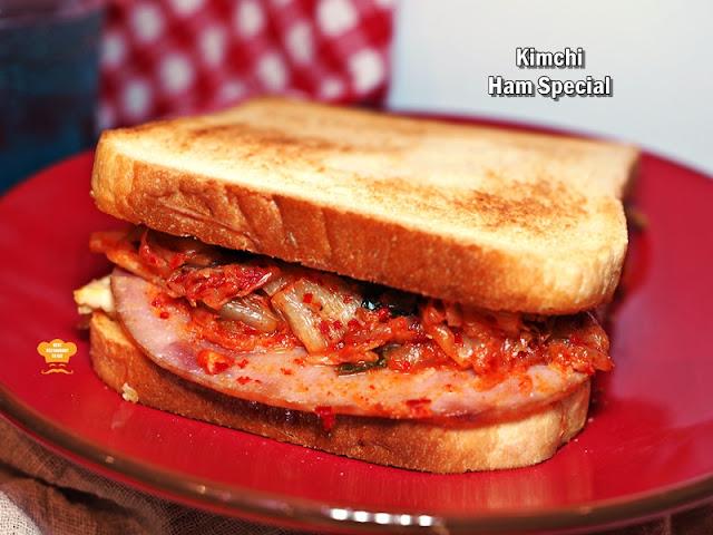 Isaac Toast Malaysia Menu - Kimchi Ham Special