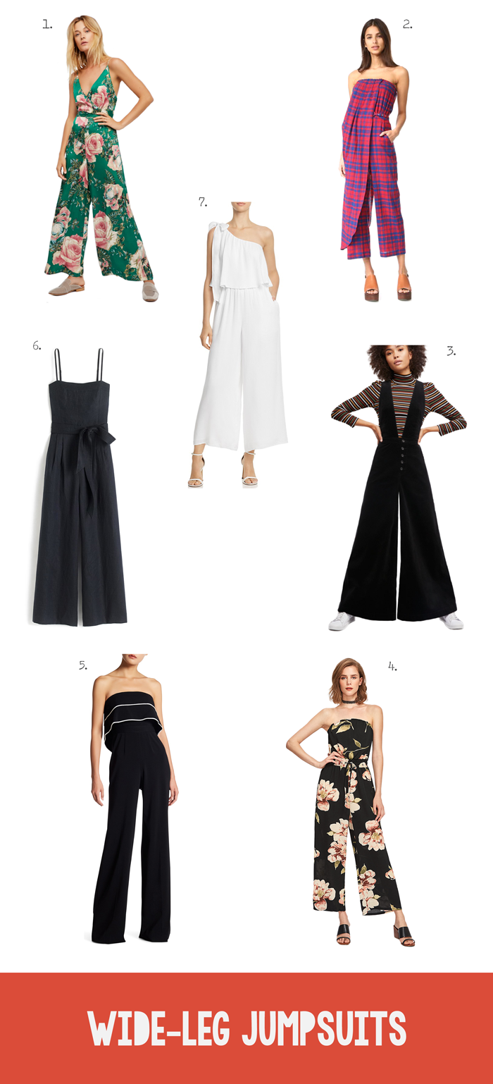 Summer Fall Fashion Trend Gaucho Jumpsuits, Rompers, Overalls, shopping guide, pants