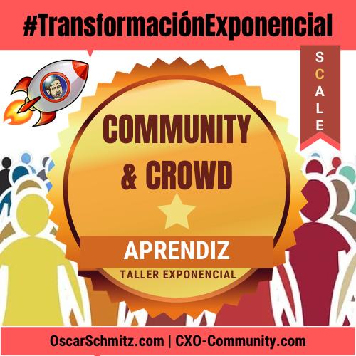 #Taller Creer, Crear y Construir Comunidades con Propósito Extraordinario