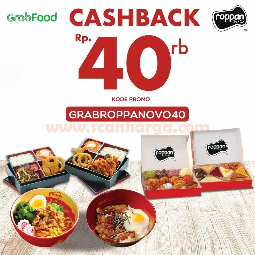 ROPPAN Promo GRABFOOD CASHBACK hingga Rp. 40.000