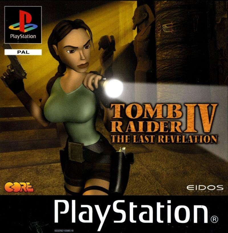 Tomb Raider 4 ISO PS1