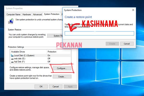 Cara Terbaru Membuat Restore Point Di Windows 10