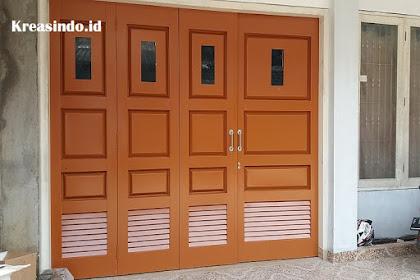 Inspirasi Pintu Garasi Besi Model Terbaru dan Modern