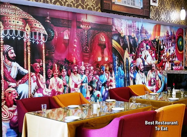 Royal Darbar Restaurant KL Wisma Motor Jalan TAR Indian Palace Decor