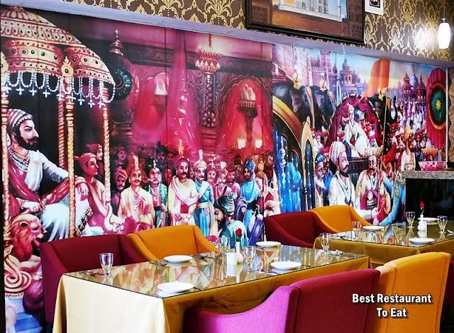Royal Darbar Restaurant KL Wisma Motor Jalan TAR Indian Palace Decor