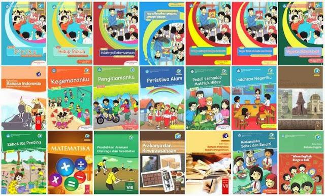 Buku BSE Kurikulum 2013 Untuk Siswa SD Semua Kelas Tahun 2017-2018 Lengkap