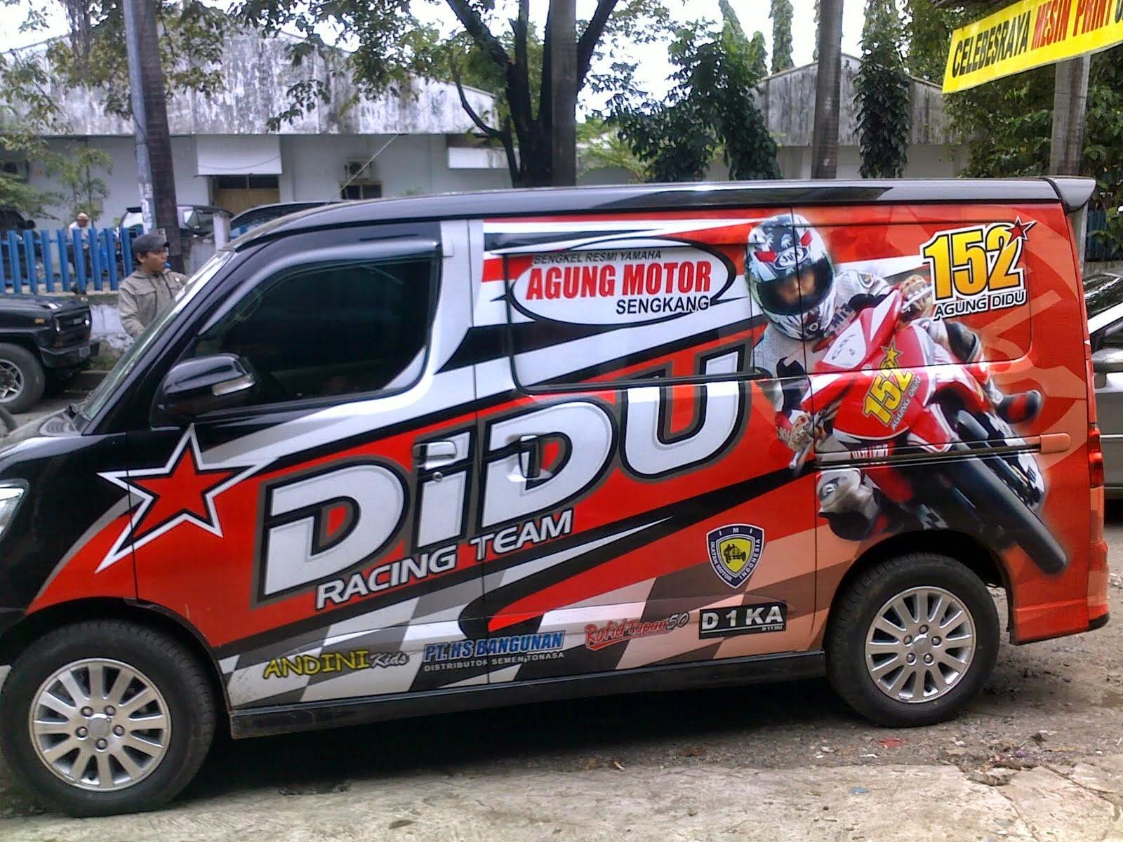 Branding Mobil Grand Max Habi