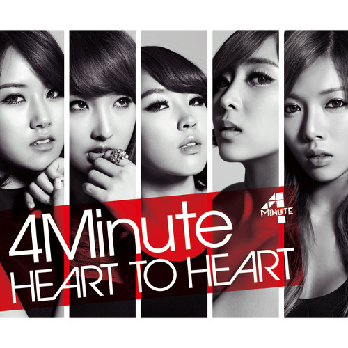 4minute - HEART TO HEART [FLAC   MP3 320 / CD]