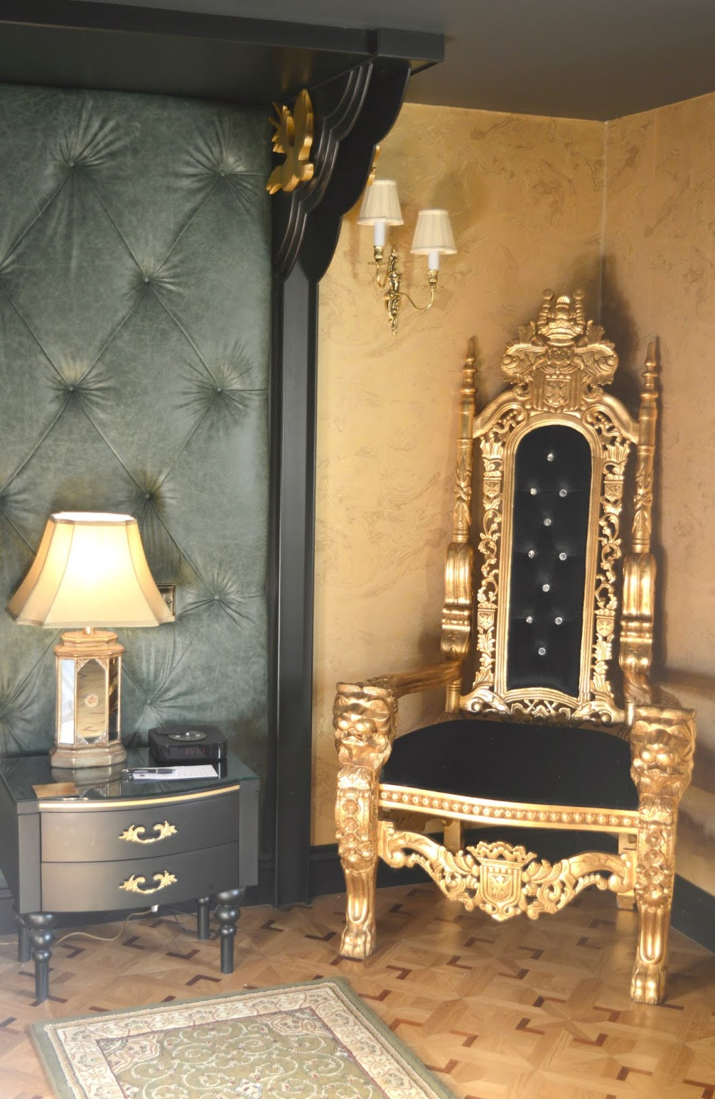 Luxury Suite at Crab Manor at the Crab & Lobster, Thirsk