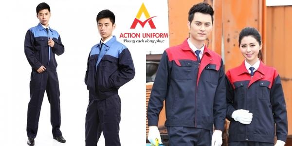 Mẫu đồng phục bảo hộ lao động 4