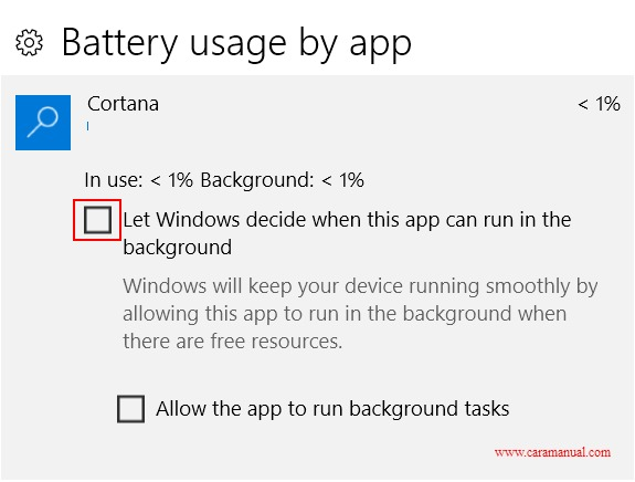 5 Tips Menghemat Baterai Laptop di Windows 10 7