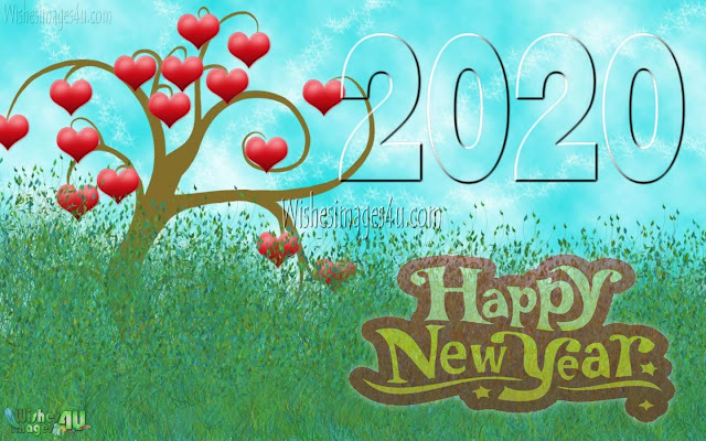 New Year 2020 Full HD Love Background Wallpapers