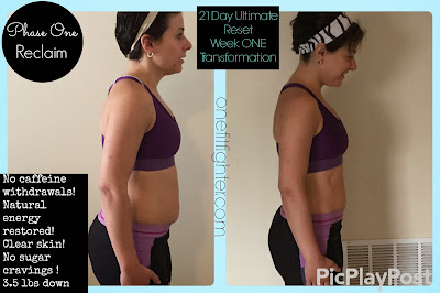 week one ultimate reset, reset transformation, beachbody transformation