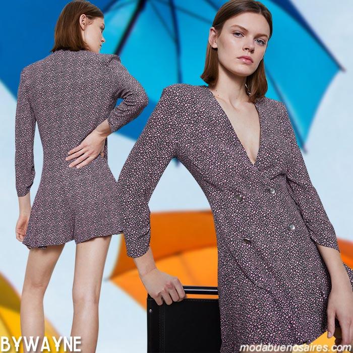 monos cortos moda mujer ropa verano 2021
