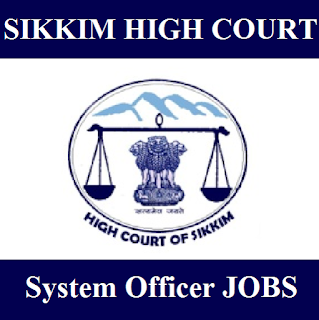 High Court of Sikkim, Gangtok, High Court, HC, Sikkim, System Officer, Graduation, freejobalert, Sarkari Naukri, Latest Jobs, sikkim hc logo