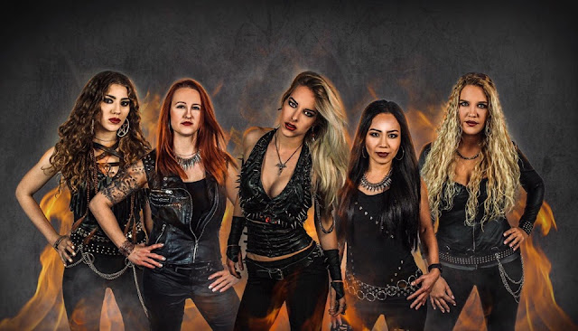 Το συγκρότημα Burning Witches