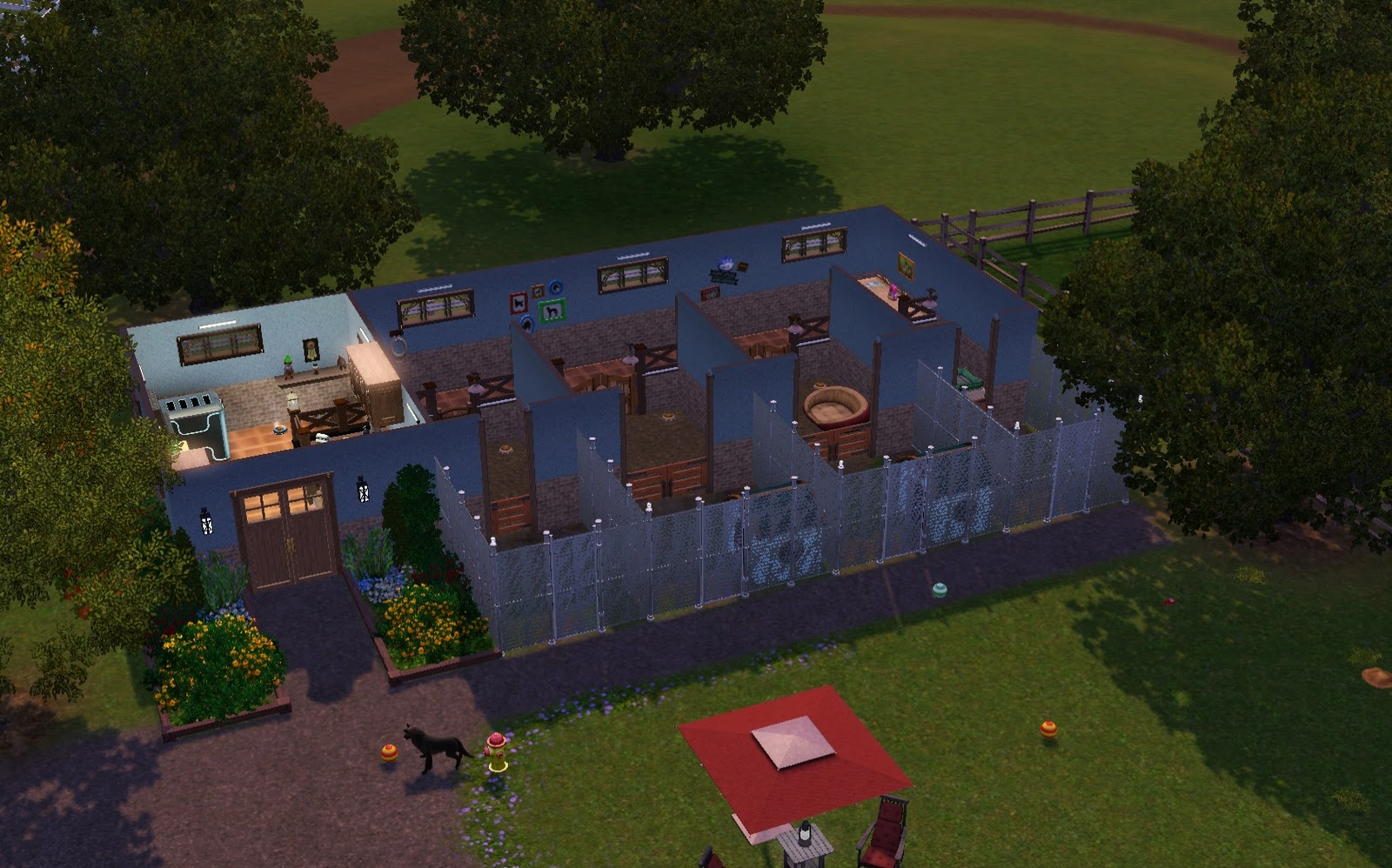 doghouse sims 4