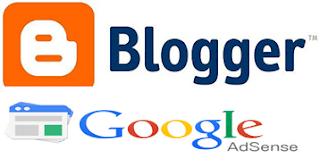blogger alan adı adsense reklamla