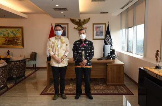Wakil Menteri Perdagangan Janji Akan ke Riau Usai Dijumpai Gubri