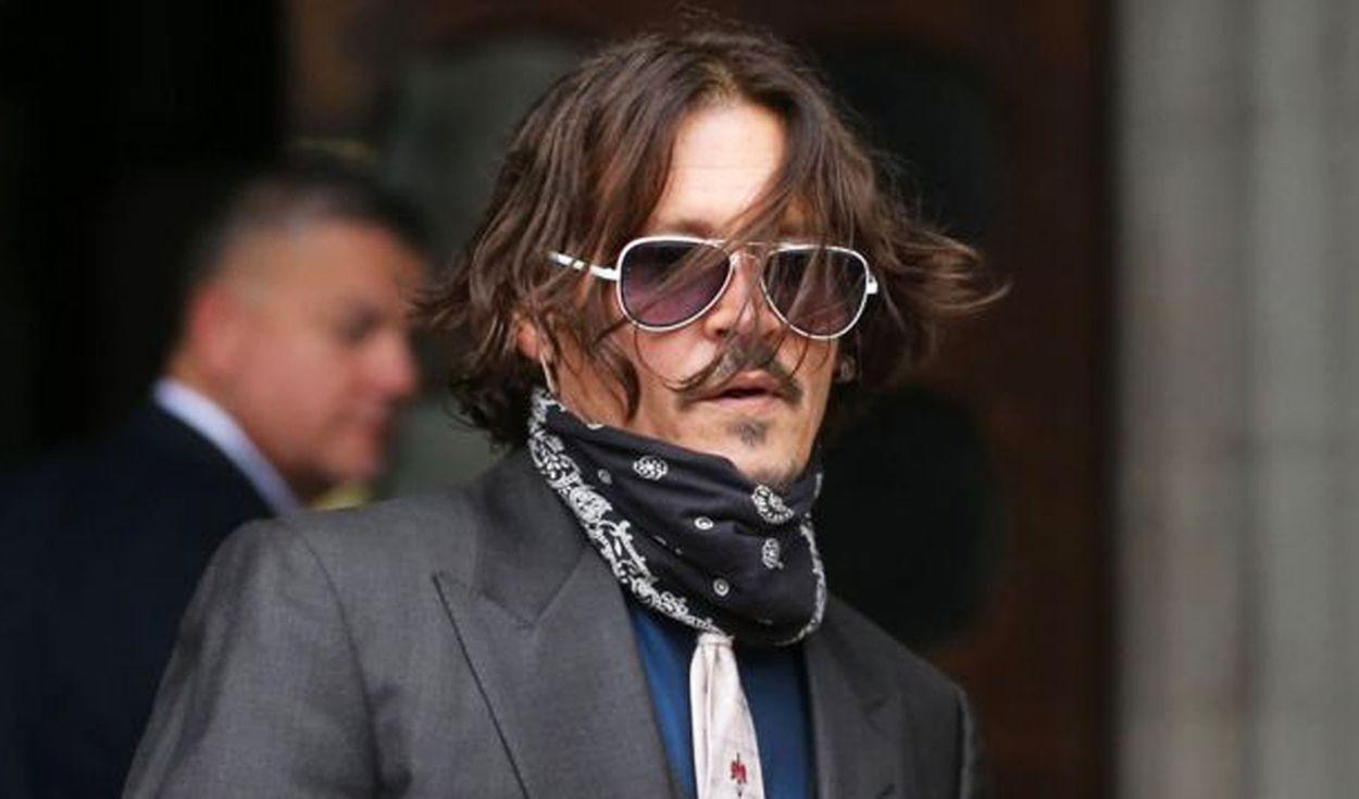 """Johnny Depp pierde juicio contra medio que lo llamó """"maltratador de esposas"""""""