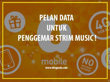 PELAN DATA UNTUK PENGGEMAR STRIM MUSIC !