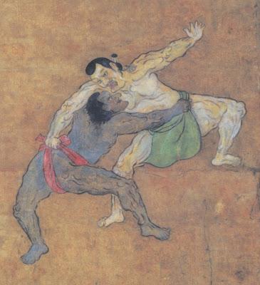 Luta de sumô. A história do samurai negro