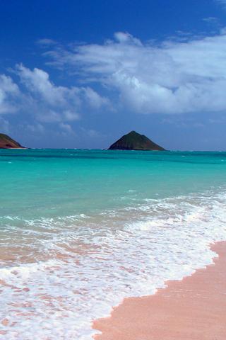 Plaža, more, ljeto download besplatne slike pozadine Apple iPhone