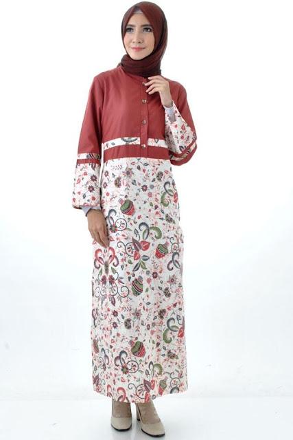 Batik Gamis Cibulan