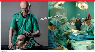 Cutting off the human Head and Replacing it with another Head,See The World's first human head transplant (Video)