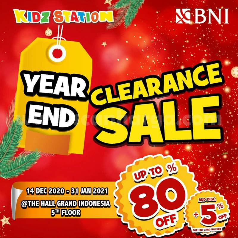 Kidz Station Year End Clearance Sale – Disc. up to 80% off*